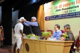 A still from 36th Foundation Day, ICMR-NIRTH, Jabalpur