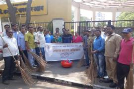 05.04.2018 - Swachh Bharat Abhiyaan organized at Wagasker Garden, Koregaon Park, Pune