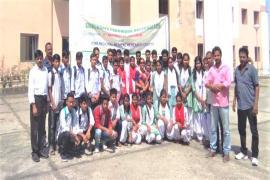 Group photo of participants  in Swachhta Pakhwada, ICMR-RMRC, NE Region, Dibrugarh
