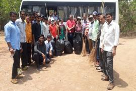 07.04.2018 - Swachh Bharat Abhiyaan organized at Pashan, Pune