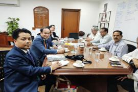 Honourable Union Minister, Ministry of Health and Sports, Republic of the Union of Myanmar visited ICMR
