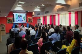 Address by Senior Scientific Coordinator,AUSTRC, Abuja