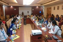 ICMR-NIMR activities as a part of IISF outreach campaign