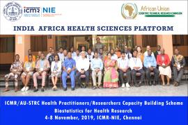 Under the ICMR/AU - STRC Health Practitioners/Researchers Capacity Building Scheme