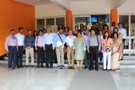 Delegation from People's Republic of Bangladesh and ICMR-NARI scientists  on 15th July 2019