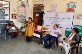 Delegate addresses in Swachhta Pakhwada organised in NIREH, Bhopal
