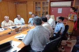 More than 20 social scientists from various ICMR institutes participated in this meeting