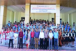 Group Photograph of participants and scientists of  ICMR-RMRC Dibrugarh