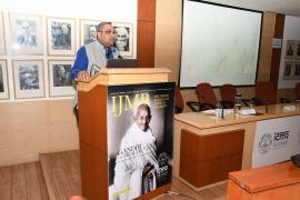 Dr. Prashant Mathur, Director, NCDIR, Bangalore speaking on 'Lifestyle disorders and the importance of keeping fit for a better tomorrow' during the Symposium on Gandhi & Health@150