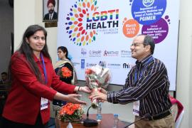 Dr. Panda in LGBTI Health Symposium held on 9th and 10th March 2019 at PGIMER, Chandigarh.