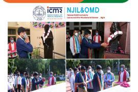 75th Independence Day celebration at ICMR-NJIL&OMD, Agra