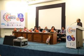 Dr. Samiran Panda, Director ICMR-NARI addressing the audience at LGBTI Health Symposium held on 9th and 10th March 2019 at PGIMER, Chandigarh.