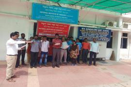 The Swachhta Shapath at ICMR- NIV Bangalore Unit