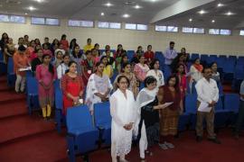 NARI staff participating in 'Swachhta Pakhwada 2018'