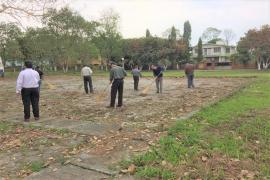 Employees give their contribution in Swachhta Pakhwada, ICMR-RMRC, NE Region, Dibrugarh