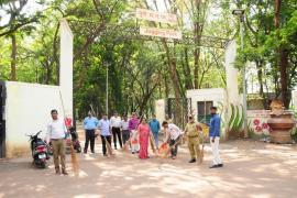 SwachhBharat Abhiyaan organized at Joggers Park Bund Garden, Yerawada, Pune