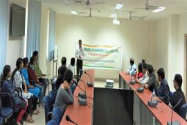 Delegate addresses to participants in Swachhta Pakhwada organised by  ICMR-RMRC, NE Region, Dibrugarh
