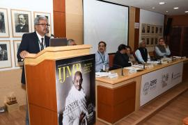 """Raghvendra Singh, Secretary, Ministry of Textiles shares his views in Symposium on """"Gandhi & Health@150."""