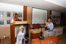 "Dr. Bindeshwar Pathak, Foundater, Sulabh International addresses in Symposium on ""Gandhi & Health@150"