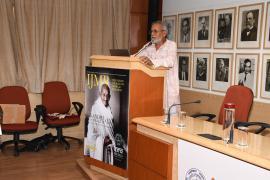 "Dr. Anil Gupta addresses in Symposium on ""Gandhi & Health@150b at ICMR Hqrs., New Delhi"