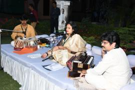 """Cultural Evening in ICMR Hqrs, New Delhi while Symposium on """"Gandhi & Health@150"""