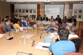 "Delegates interact in Symposium on ""Gandhi & Health@150 at ICMR Hqrs., New Delhi"