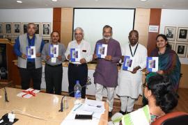 """Delegates present in Symposium on """"Gandhi & Health@150 at ICMR Hqrs., New Delhi"""