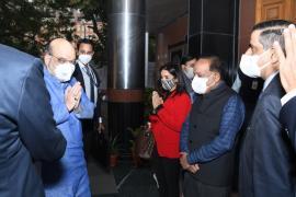 Hon'ble Home Minister Shri Amit Shah inaugurated the mobile COVID-19 RT-PCR Lab jointly developed by SpiceHealth & ICMR that will revolutionize Covid-19 testing in India