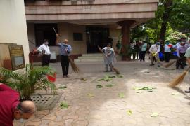 Celebration of 151th birth anniversary of Mahatma Gandhi at ICMR-NICED, Kolkata
