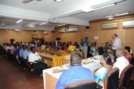 India International Science Fare at VCRC, Puducherry