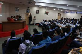 ICMR-NARI interacts with student community for HIV/AIDS education #AIDS Awareness
