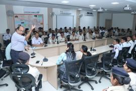 NIREH conducted an awareness programme on Air Pollution for Traffic Police Personnel at the Police Control Room of the city