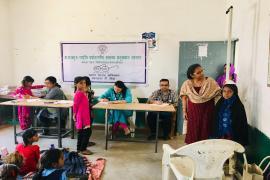 Participants in Swachhta Pakhwada organised in NIREH, Bhopal