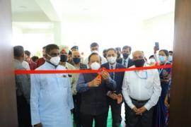 Dr. Harsh Vardhan, Union Minister for Health and Family Welfare inaugurated New Green Campus of ICMR-NIREH, Bhopal on March 13, 2021