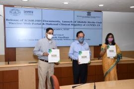 """Dr. Harsh Vardhan, Hon'ble Union Minister for Health & Family Welfare has released  a book on """"100 years History of ICMR-NIN"""""""