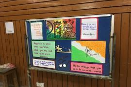 Gandhi & Health @ 150 at school 2