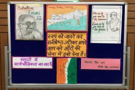 Gandhi & Health @ 150 at school 3