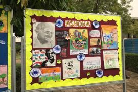 Gandhi & Health @ 150 at school 5