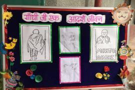 Gandhi & Health @ 150 at school 7