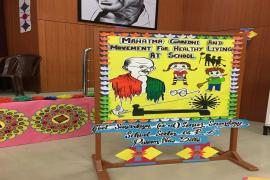 Idea of Gandhi & Health as perceived by schools