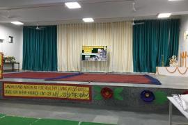Stage set for Gandhi & Health event