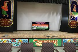 Stage set for the event