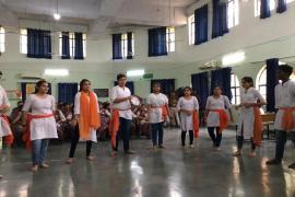 Street play on Gandhian Virtues