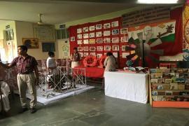 Exhibition on Gandhi