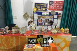 Exhibition on handicrafts