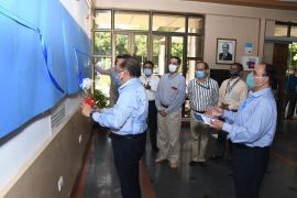 Dr Harsh Vardhan, Union Minister for Health & Family WelfareUnveils ICMR History Timelineat New Delhi, Headquarters
