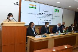 Brazilian delegation led by H.E. Mr. Marcos Pontes, Minister of SciTech&Innovation, Govt. of Brazil visited ICMR Hqrs. New Delhi on 24th Feb. 2021 & met Secretary DHR/DG ICMR & his team to exchange views on themes of common research interest & possible avenues for collaborative partnership.